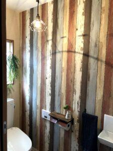 トイレのオシャレアップにはペンダントライト